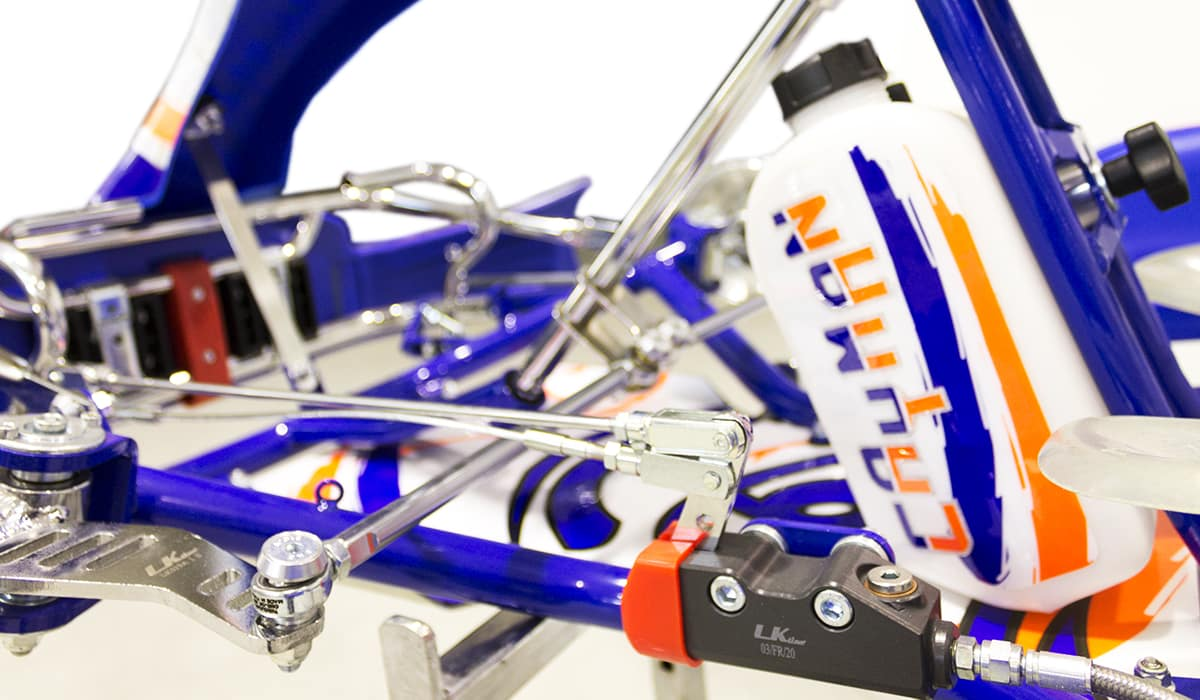Novalux Racing Team - prodotti - telaio Cayman Evo Lenzokart
